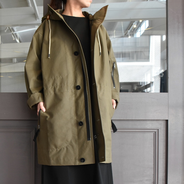SOFIE D'HOORE(ソフィードール) / hooded parka with zip