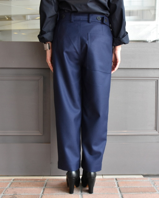 SOFIE D'HOORE ソフィードールcropped casual pants with waist detail 2色展開hxtsQdCBr