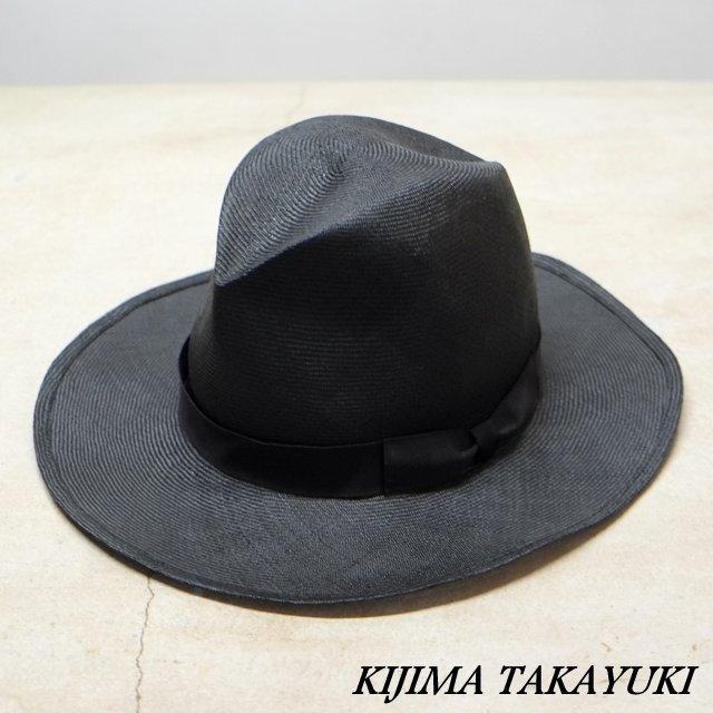 KIJIMA TAKAYUKI(キジマタカユキ)/ シゾールハット -BLACK-