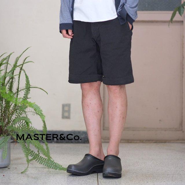 MASTER&Co.(マスターアンドコー)/CHINO SHORTS with BELT -(99)BLACK-