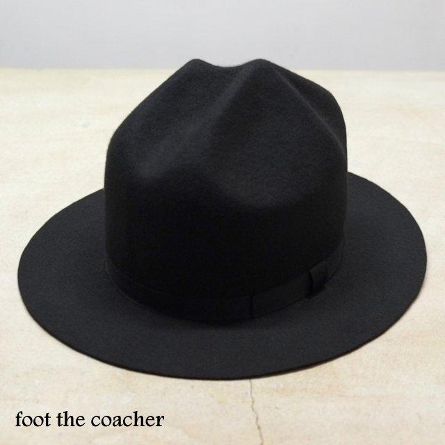 foot the coacher(フット ザ コーチャー)/Mountain Hat -BLACK-