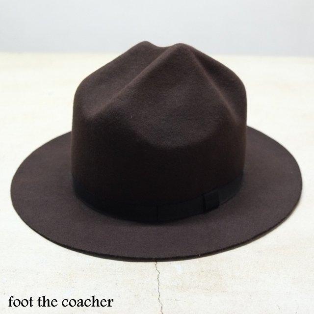foot the coacher(フット ザ コーチャー)/Mountain Hat -BROWN-