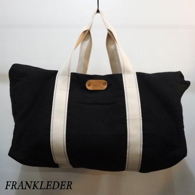 FRANK LEDER(フランクリーダー)/ Deutschleder Boston Bag - BLACK - #0820137