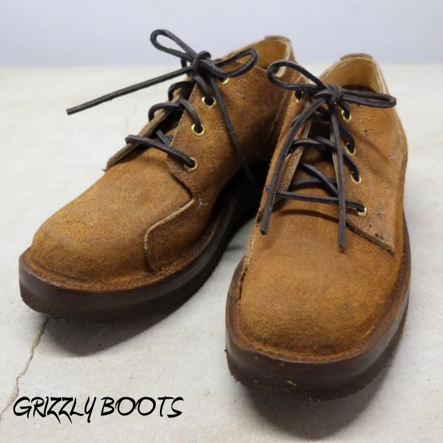 GRIZZLY BOOTS(グリズリー ブーツ) / Lineman Oxford -Brown Rough Out-