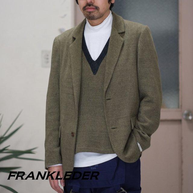 FRANK LEDER(フランク リーダー) / AUSTRIAN LINEN JERSEY JACKET -(48)GREEN- #0912068