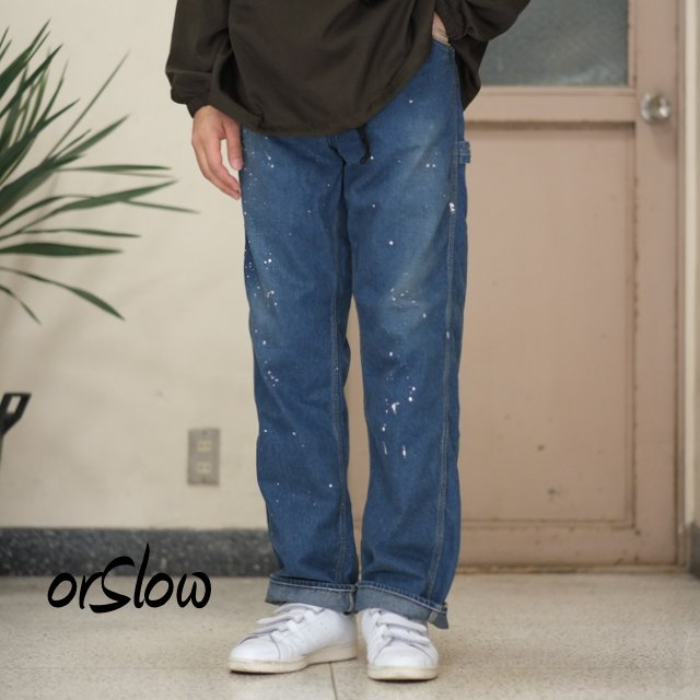 orSlow(オアスロウ)/PAINTER PANTS -(95) used-