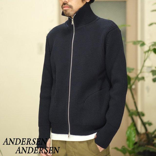 ANDERSEN-ANDERSEN(アンデルセン アンデルセン)/THE NAVY - 1/1 ZIP with Pocket -NAVY BLUE-