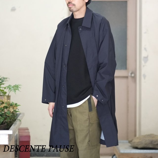 DESCENTE PAUSE(デサント ポーズ)/OVER COAT -BLACK- DLULJC30