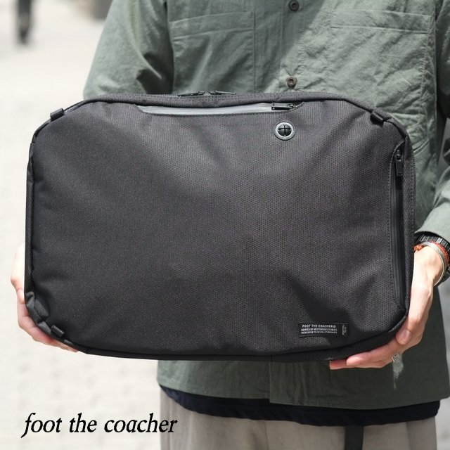 foot the coacher (フットザコーチャー) / 5WAY BAG -BLACK- #FTA1712016