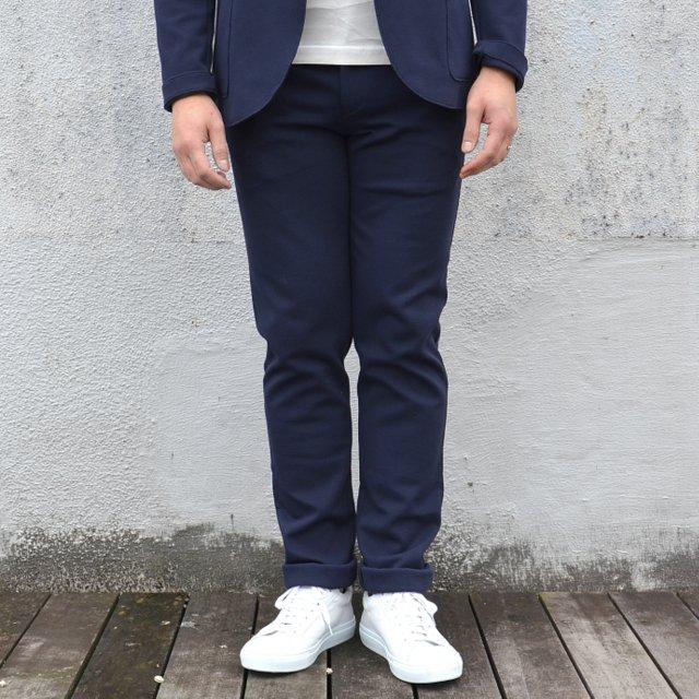 Harris Wharf London(ハリスワーフロンドン)/ Man Trousers Piquet -(358)navy blue-