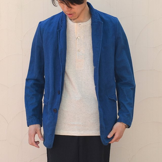 CASEY CASEY(ケーシーケーシー)/ CAV JACKET -BLUE-