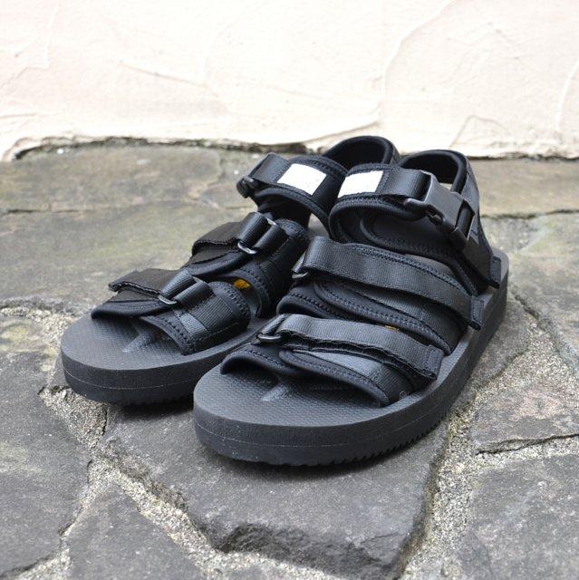 SUICOKE (sicock) / GGAV SANDAL - BLACK-