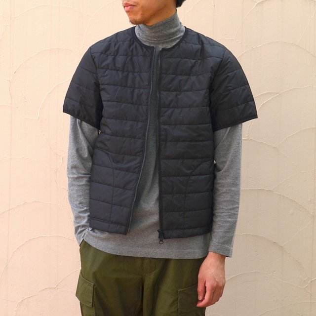 MASTER&Co.(マスターアンドコー)/ THINSULATE S/S INNER DOWN -(99)BLACK-