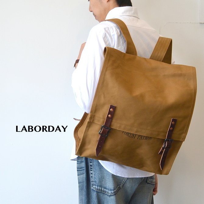 LABOR DAY(レイバー・デイ)/ PATROL PACK- Brown