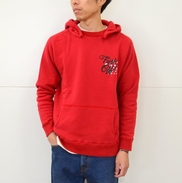 WHITE LINE(ホワイトライン)/WL Parka(WOLVES KILL SHEEP) -RED-
