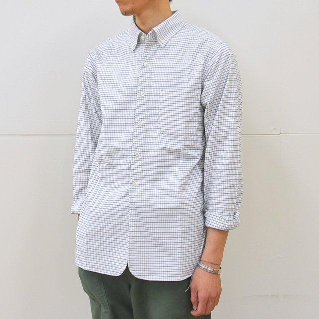 ohh!nisica(オオニシカ)/ オオニシカB.Dシャツ -WHITE CHECK-