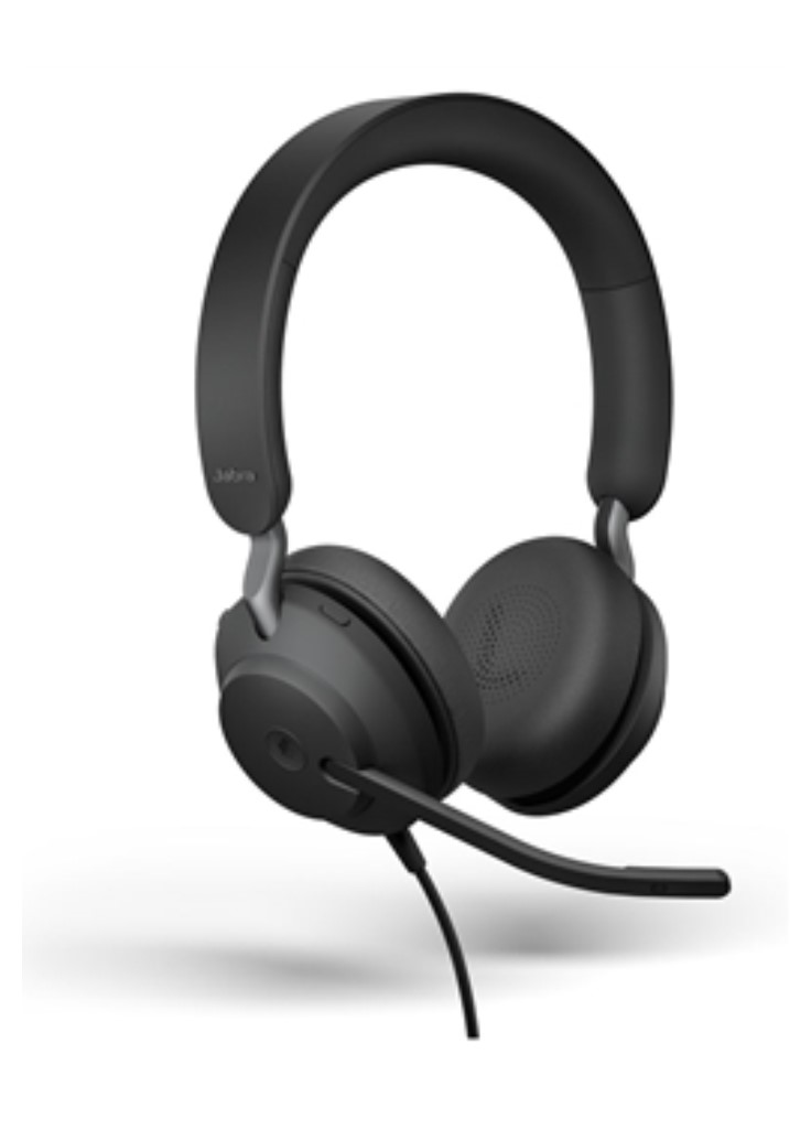 GNオーディオ Jabra EVOLVE2 40 MS Stereo USB-C PCステレオヘッドセット メーカー保証2年付き 在宅勤務 テレワーク 送料無料