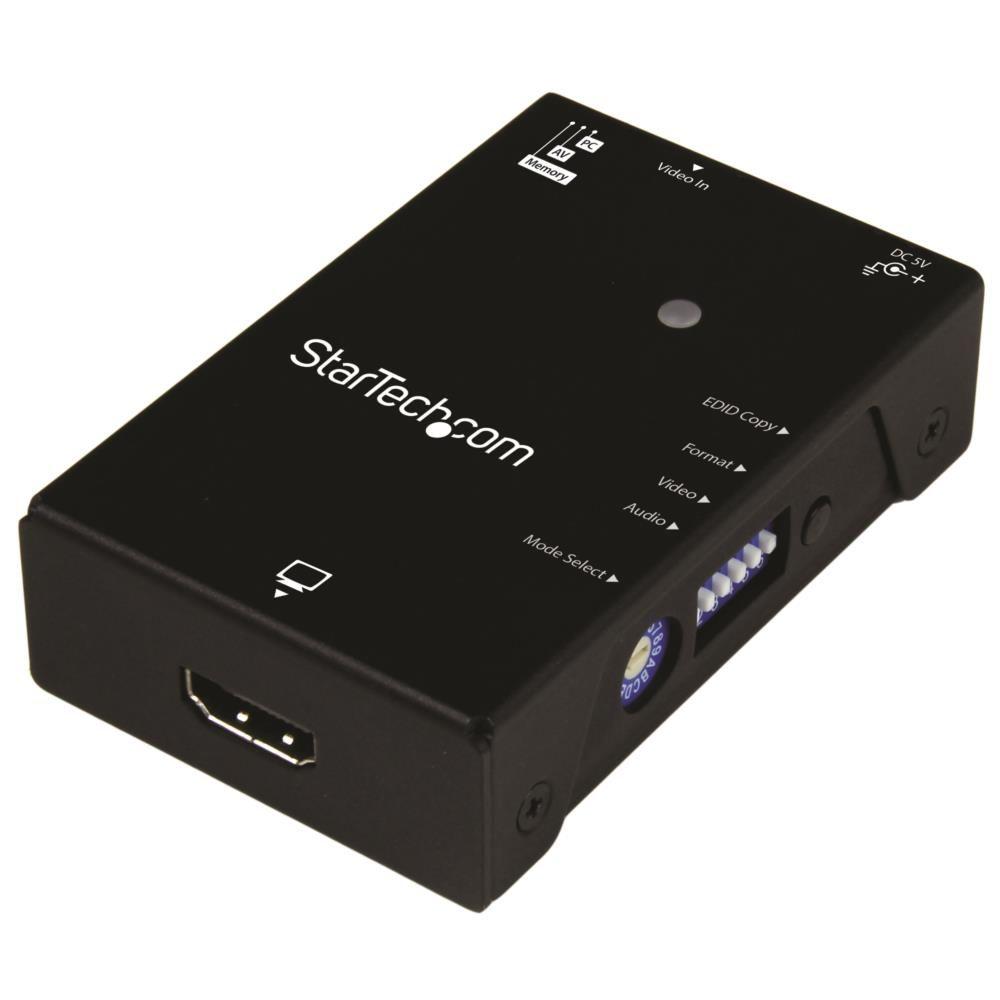 EDID 定番スタイル Extended Display Identification Data コピーまたはジェネリックEDIDをHDMI信号に追加し 送料無料(一部地域を除く) StarTech.com 送料無料 HDMIディスプレイ対応EDIDエミュレータ 信号保持機 1080p ディスプレイやプロジェクタの互換性を確保