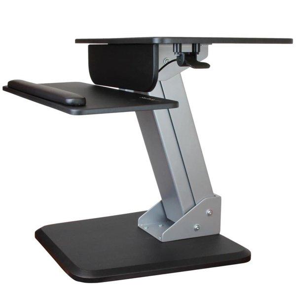 Startech 昇降デスク エルゴノミクス上下昇降式リフティングデスク ワンタッチ高さ調整用空気圧式スプリング