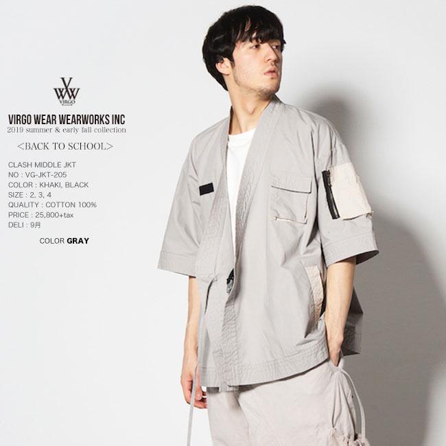 30%OFF SALE VIRGO ヴァルゴ DOUGI SHIRTS JKT シャツジャケット 日本製 19sa セール