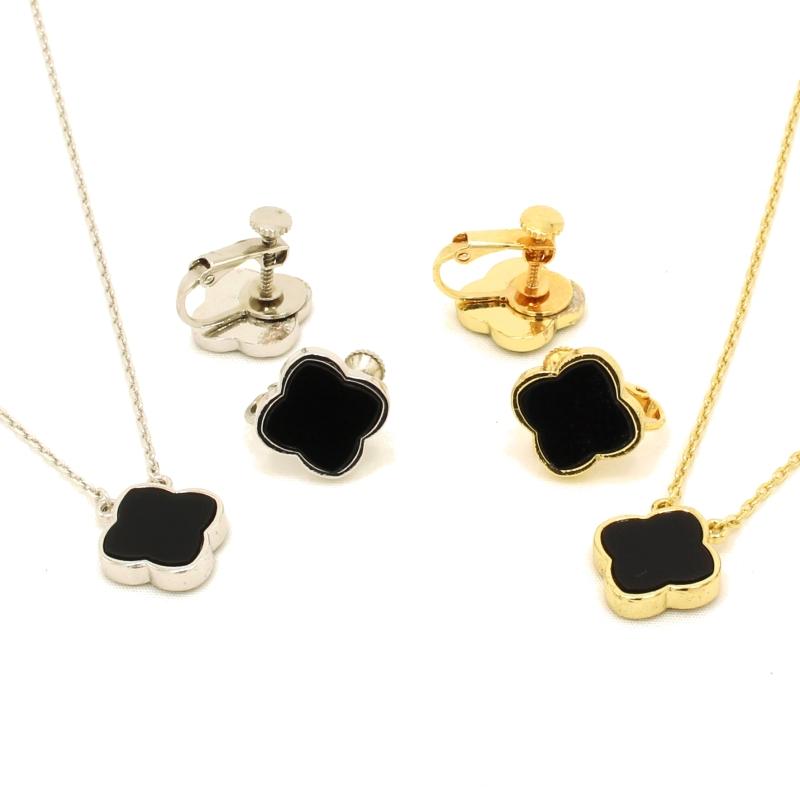 Hakuchobana Perlafiore Clover Lady S Pendant Brand Travel Jewelry