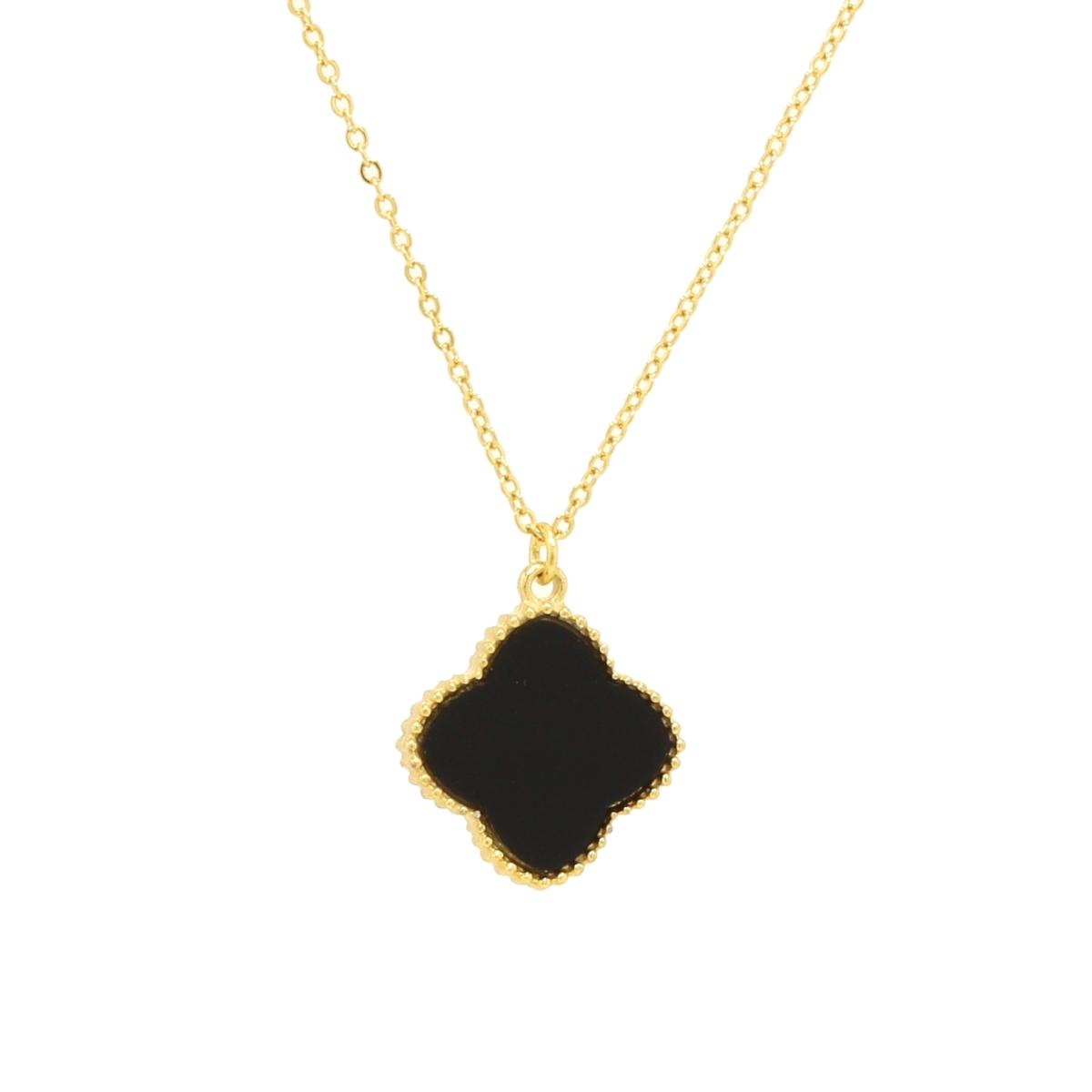 Hakuchobana Perlafiore Some Mil Gold Flower Necklaces Size Grain