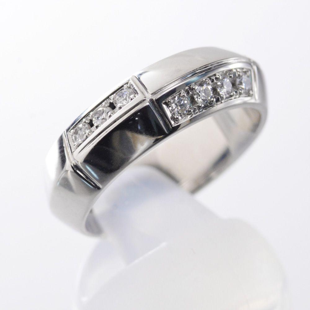 メンズ リング 指輪 ダイヤモンド Pt950 プラチナ 13g 新作