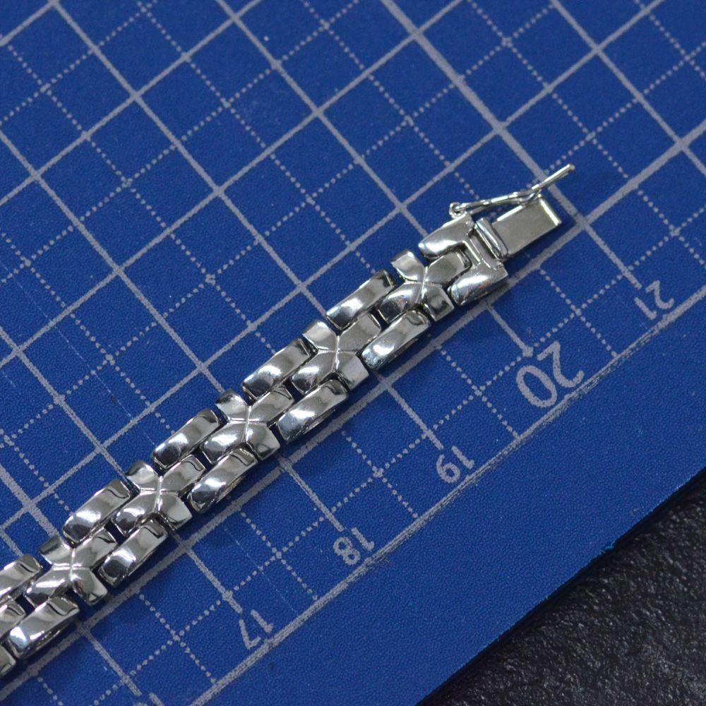 メンズ ブレスレット プラチナ Pt850 23g 20cm 日本製 地金f6b7Ygy