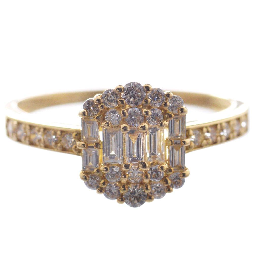 指輪 レディース ダイヤモンド リング K18 18金/送料無料