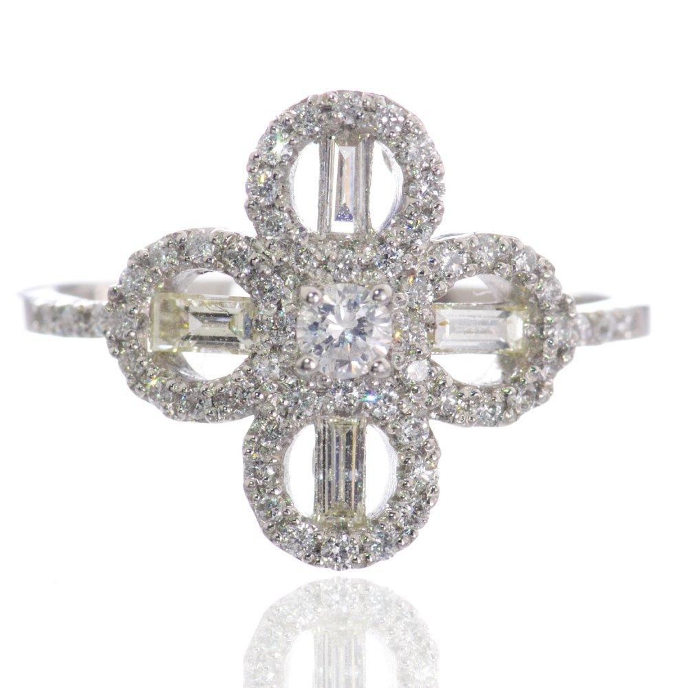 指輪 レディース ダイヤモンド リング Pt900 プラチナ/送料無料