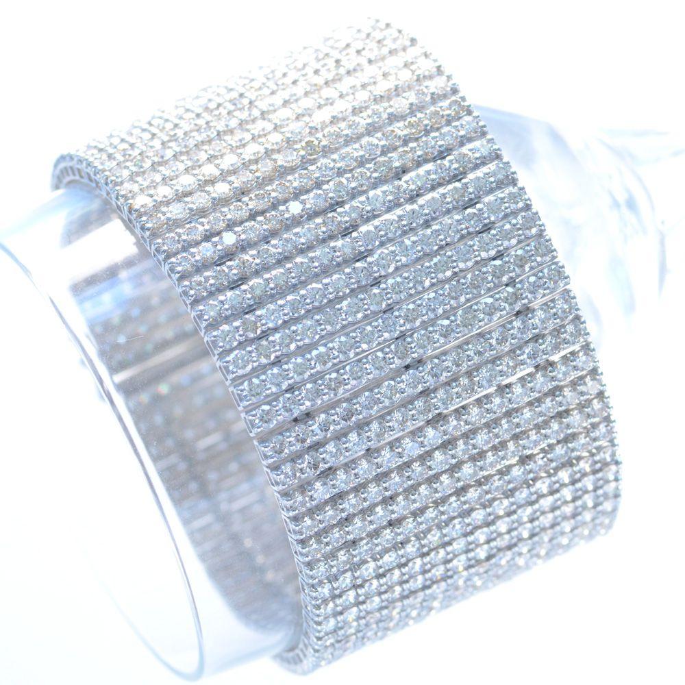 50カラット ダイヤモンド ブレスレット プラチナ H&C ハートアンドキューピッド Pt950 鑑別書付き 日本製