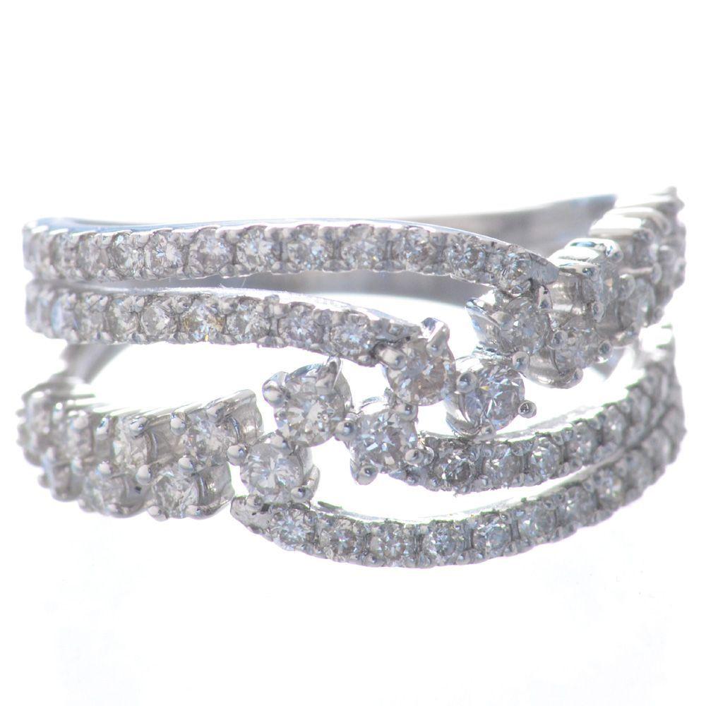 品多く 指輪 レディース プラチナ ダイヤモンド リング Pt950 鑑別書付き 日本製, キタカンバラグン dfa63c01