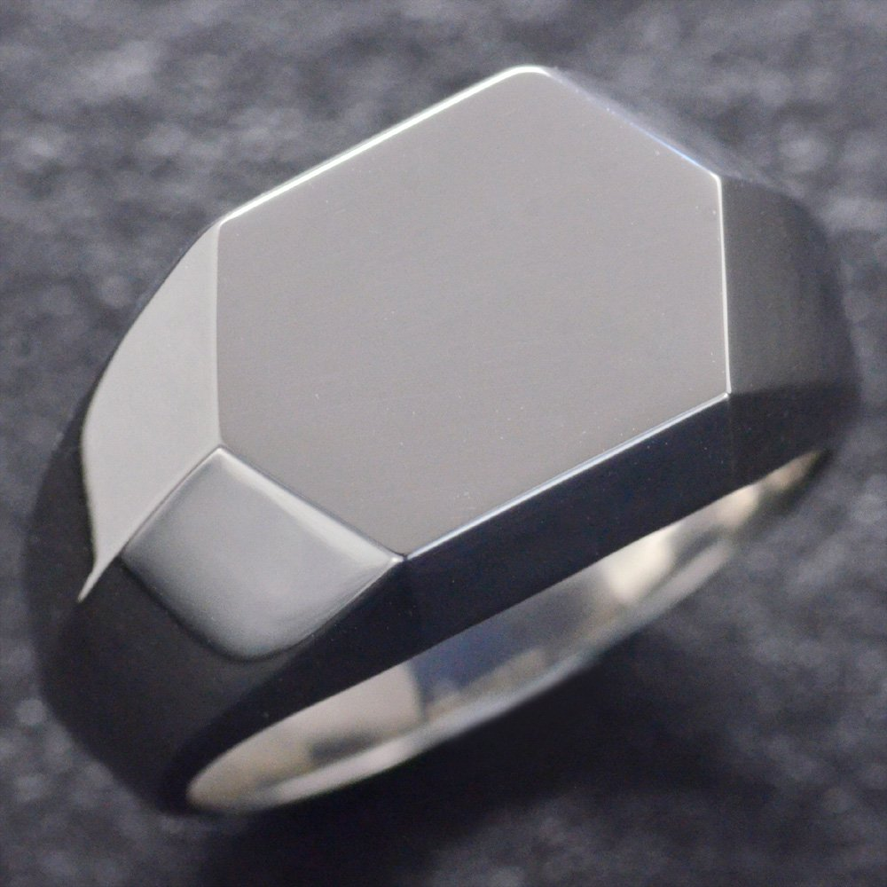 [宅送] 指輪 ごつい メンズリング プラチナ 幅広 印台 Pt900 幅広 印台 地金 男性用 日本製 刻印入り ダイヤモンドセット可能 ごつい 太め 大きいサイズ 作製可能 裏抜き有り 軽量化版, 中之島町:b3f4e1c0 --- verandasvanhout.nl
