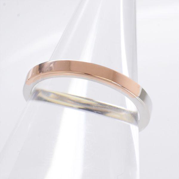 結婚指輪 マリッジリング プラチナ ピンクゴールド ペアリング メンズ ananya/送料無料