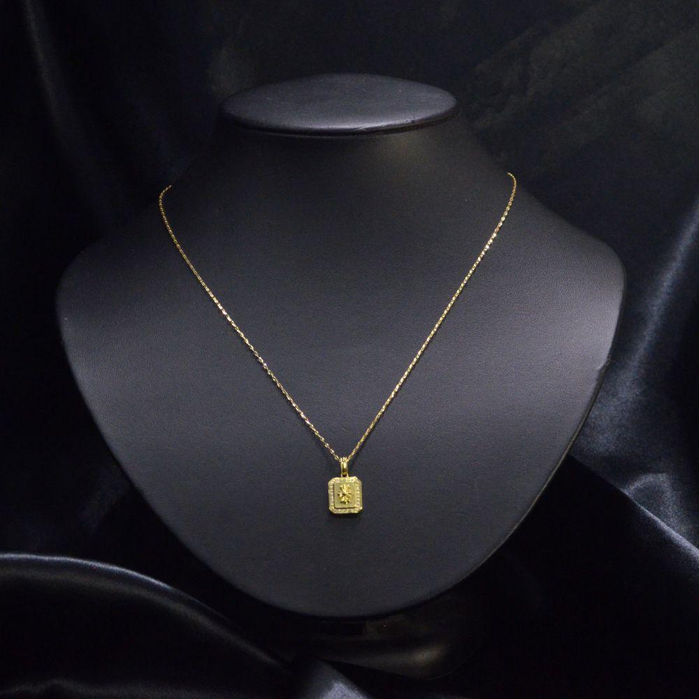 K18 ダイヤモンド メンズ ネックレス/