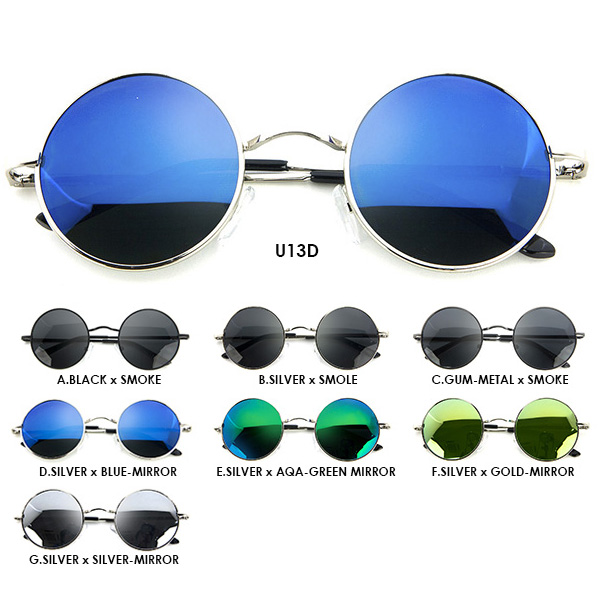 cfdab165a Round sunglasses polarized glasses round glasses round sunglasses 10303 +  u13 mirror sunglasses retro round glasses ...