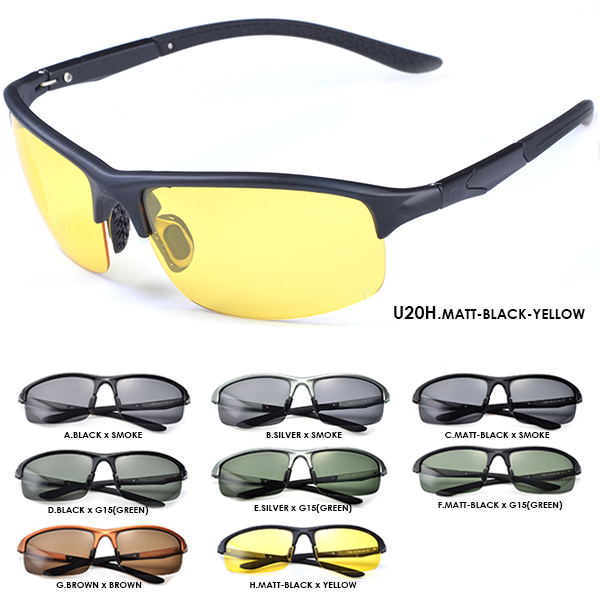 d8b7c5739156 Nightly (yellow) Polarized Sunglasses mens Womens 10303 + u20 fishing Golf  drive best spring cloudy hinges lightweight road bike sunglasses sport  fishing ...