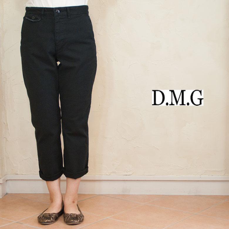 DMG ドミンゴ サージストレッチテーパードトラウザーパンツ 13-713T  19色