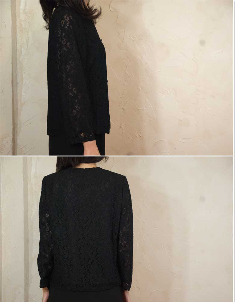 One piece of article 8016 made in rale race blouse Japan in summer for black formal summer