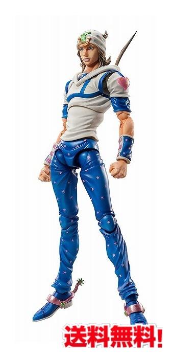 超像可動 『ジョジョの奇妙な冒険 第七部 スティール・ボール・ラン』ジョニィ・ジョースター 約150mm PVC&ABS&POM 塗装済み可動フィギュア