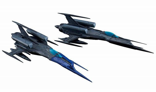 《新品》 宇宙戦艦ヤマト2202 メカコレクション 零式52型改 ブラックバード 2機セット 送料無料 完売 プラモデル 自律無人戦闘機