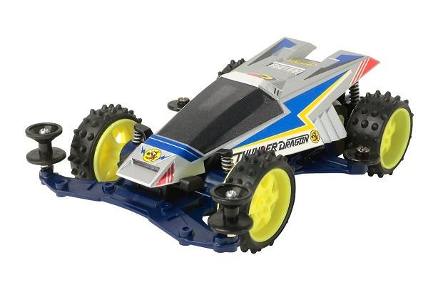 《新品》 レーサーミニ四駆シリーズ No.68 サンダードラゴン 超目玉 VSシャーシ プレミアム 上等 18068