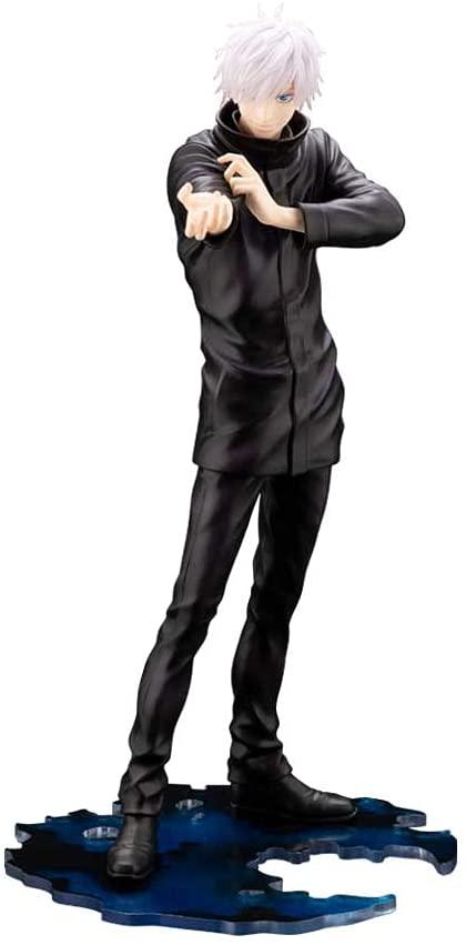 《新品》 ARTFX ショッピング 2020春夏新作 J 呪術廻戦 五条 悟 PVC製 塗装済み 8スケール 1 完成品フィギュア