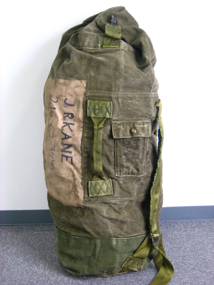 ace-ace  For US. ARMY cotton duffel bag ( genuine! Military ... 81e48dcad80