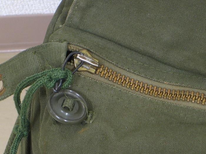 加拿大ARMY帆布·daffurubaggu(真货!)军事)