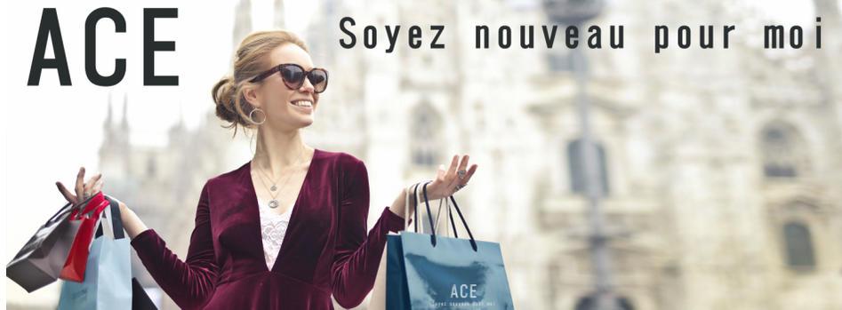ACE:圧倒的な安さで、トレンド商品を展開!。魅力的な福袋もあります!