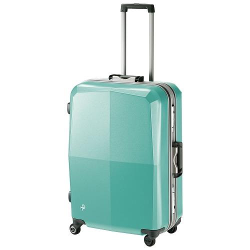 スーツケース Mサイズ 軽量 日本製 プロテカ/PROTECA エキノックスライト オーレ フレームタイプ 68リットル エース公式 送料無料 ポイント10倍 1週間程度の旅行に キャリーケース キャリーバッグ 00741