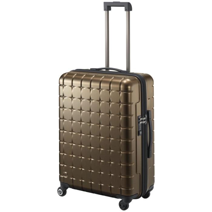 【SALE】スーツケース Mサイズ プロテカ/360sメタリック/PROTECA 61リットル 4~5泊程度の近場の旅行に ベアリング搭載!サイレントキャスター キャリーケース キャリーバッグ 02723