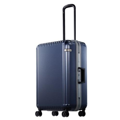 ace. パリセイドF 61リットル 送料無料 ポイント10倍 4~5日間のご旅行に! フレームタイプスーツケース 05572