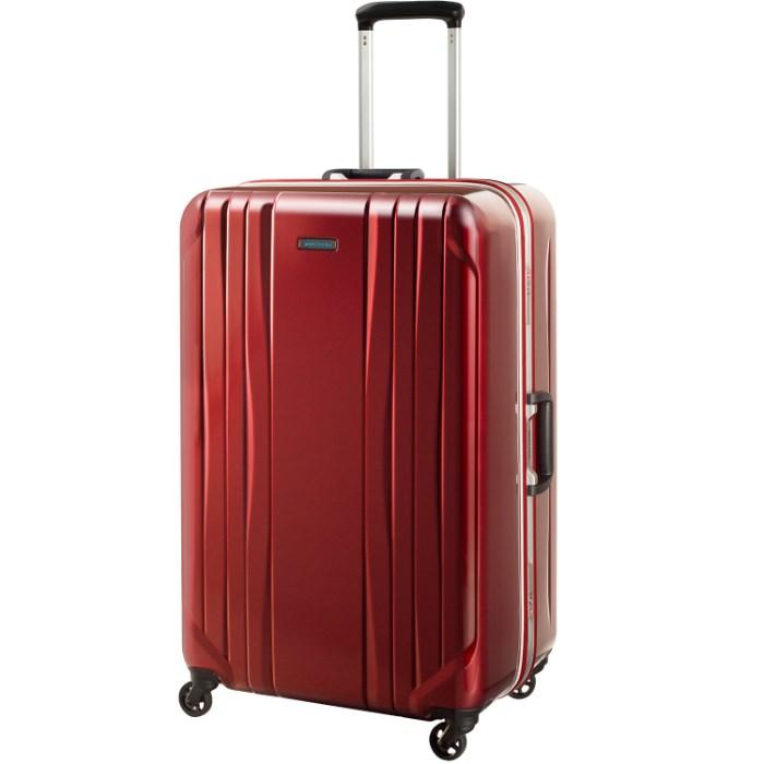 スーツケース 便利な キャスターストッパー エース ワールドトラベラー World Traveler サグレス 送料無料 ポイント10倍 1週間~10泊用 91リットル 06063